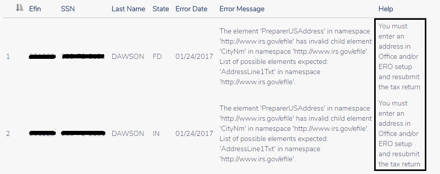 0124 validation errors removing address